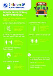SCHOOL BUS COVID-19 SAFETY PROTOCOL